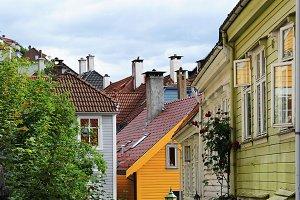 Bergen old town - Bryggen