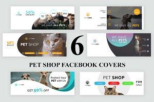 6 Pet Shop Facebook Covers