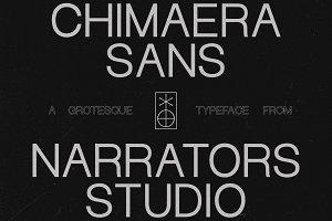 NF Chimaera - Grotesque Sans Serif