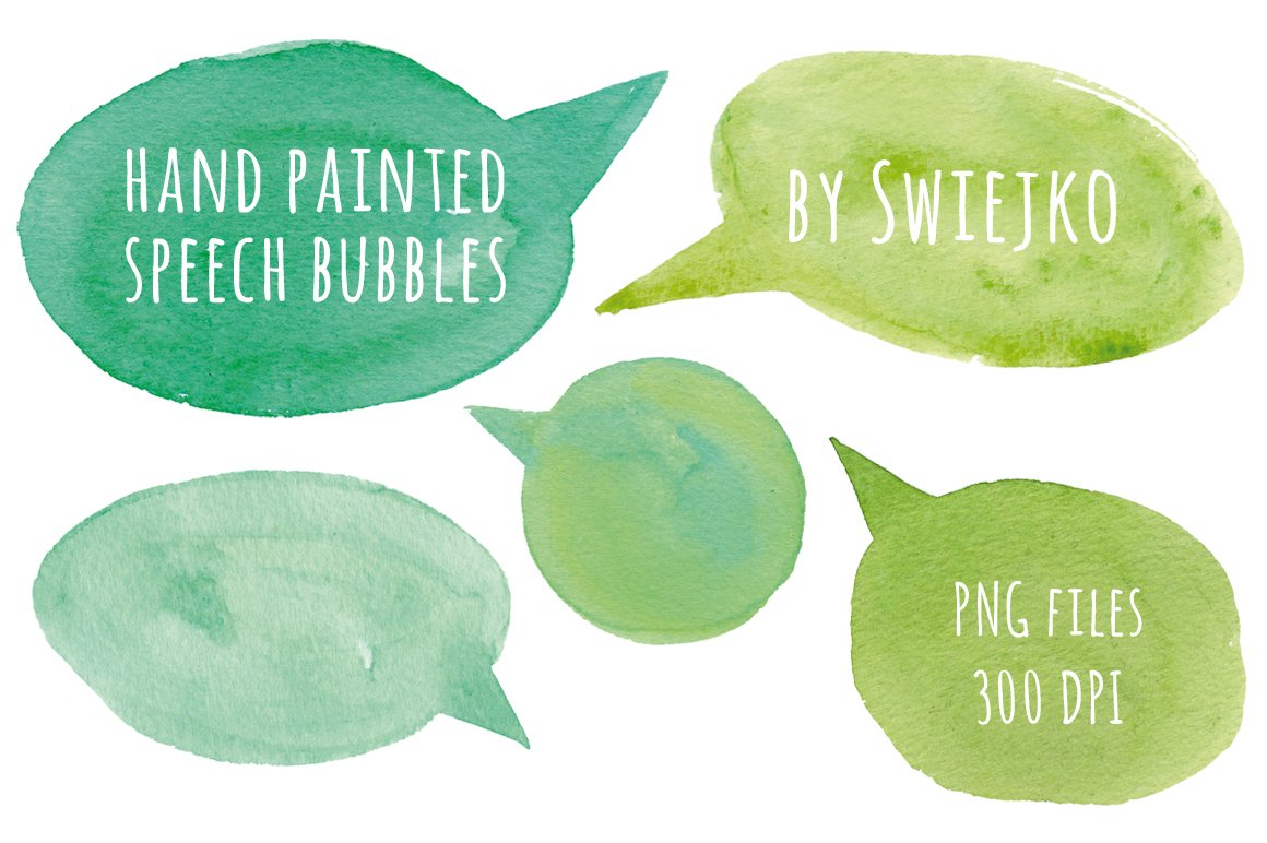 Hand Painted Bubbles