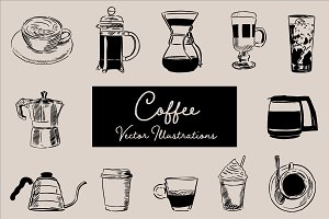 Coffee Vector Illustrations