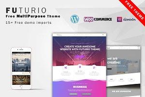 Futurio - FREE MultiPurpose WP theme