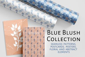 Blue blush collection