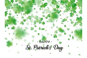 St. Patricks Day holiday background.