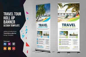 Holiday Travel Rollup Banner v2