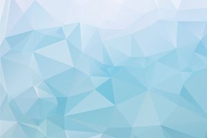 24 Low Poly vector backgrounds