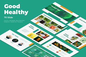 Good Healthy PowerPoint Template