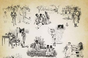 African American Children ABR & PNG