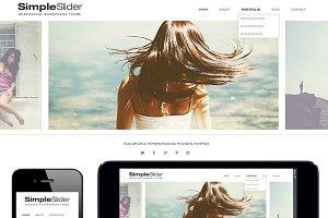 SimpleSlider Responsive WordPress