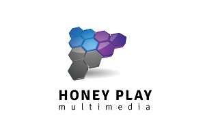 Honey Play Logo Template