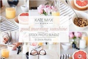 Good Morning Sunshine Stock Photo Bu