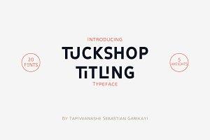 Tuckshop Titling 20% Off!
