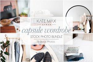 Capsule Wardrobe Stock Photo Bundle