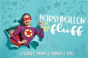 Marshmallow & Fluff - A Font Trio