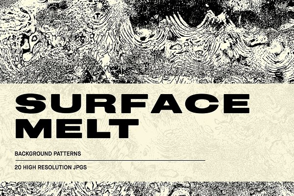 Textures: Huebert World - Surface Melt - Abstract Textures