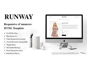 Runway – eCommerce Bootstrap 4 Templ