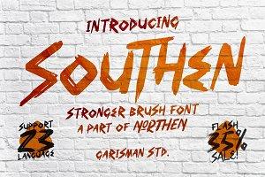 SOUTHEN Brush Fonts