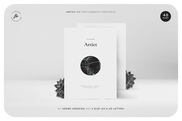 Templates: flowless - ARTICT BW Photography Portfolio