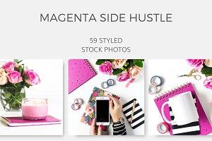 Magenta Side Hustle (59 Images)