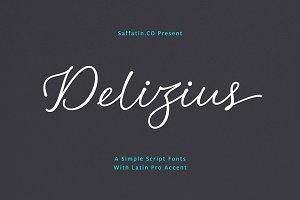 45% OFF Delizius Script Pro