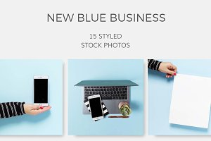 New Blue Business (15 Images)