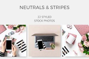 Neutrals & Stripes (22 Images)
