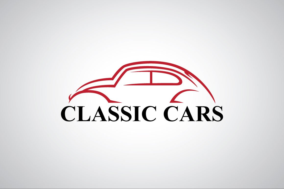 Car Template | Classic Car Logo Template Logo Templates Creative Market