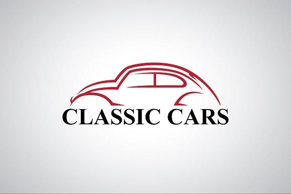 Classic Car Logo Template Logo Templates Creative Market