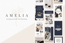 Amelia - Instagram Story Templates by  in Instagram