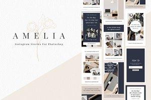 Amelia - Instagram Story Templates