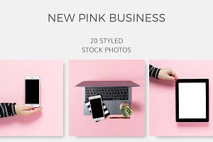 New Pink Business (20 Images)