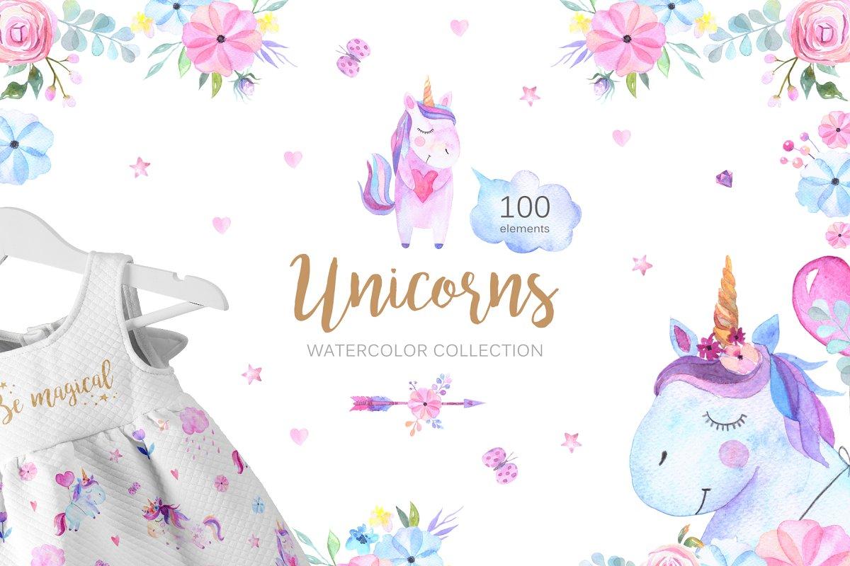 090919e32401 Unicorns ~ Illustrations ~ Creative Market