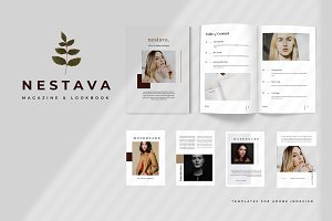 Nestava - Lookbook Magazine Template