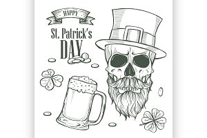 Sketch set for Saint Patricks Day