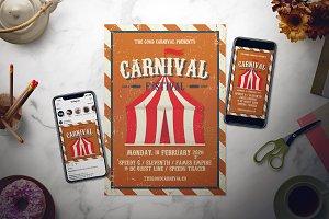Carnival Festival Flyer Set