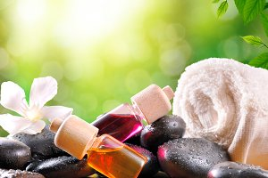 Oil and essences for body care