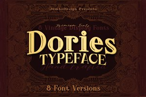 Dories - Display Font