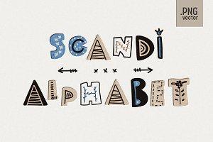 Scandinavian Kids Alphabet