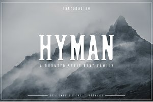 Hyman Rounded Serif Font Family