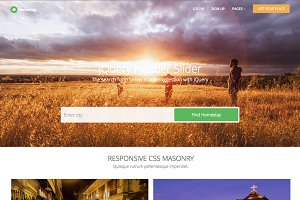 Homestay - Responsive Template