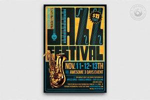 Jazz Festival Flyer Template V2