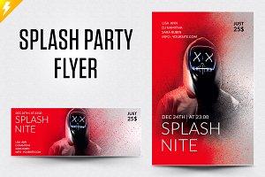 Splash Party Flyer