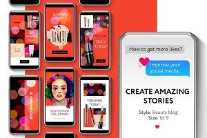 Beauty blog Instagram Templates