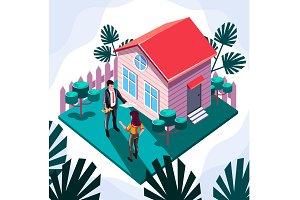House sale retail concept