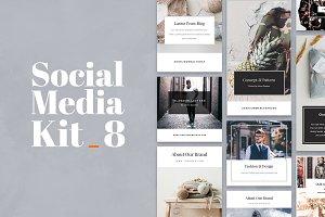 Social Media Kit Vol. 8