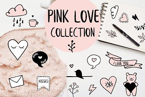 Pink Love Collection - Illustration