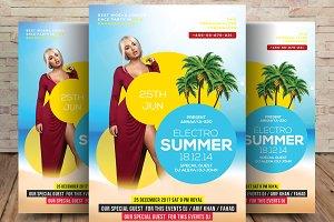 Electro Summer Flyer