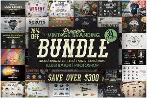 Vintage Branding Bundle 76% OFF