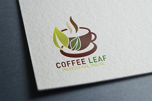 Coffee Leaf Logo