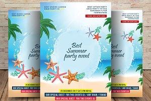 Summer Party Flyer • Hello! Summer